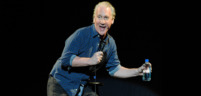 facebook.com Liberal comedian Bill Maher doesn't hold back any of his potentially offensive jokes.