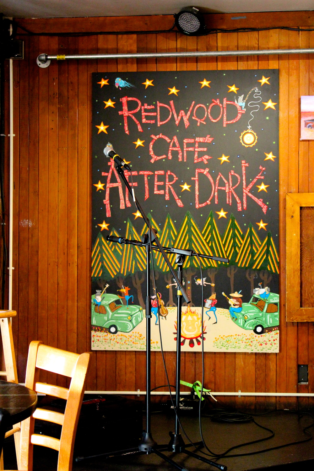 STAR // Sara Wildman Redwood Cafe puts on After Dark Open Mic night for the community to enjoy.