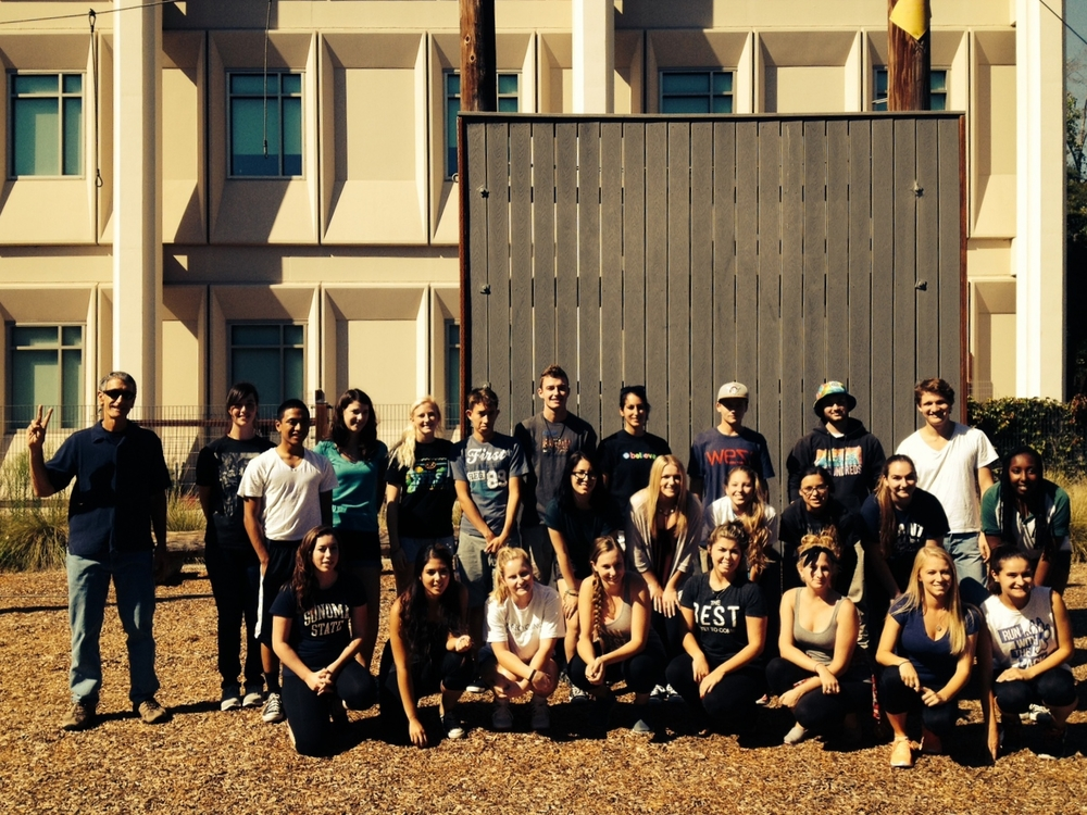STAR // Jonathan Angulo  This group of students were able to participate in the ropes course as a class to create a comfortable learning environment.