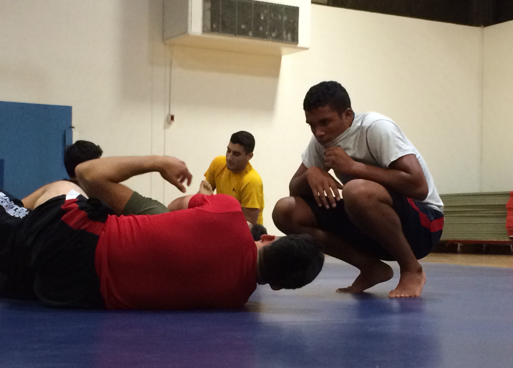 STAR // Kyler Khan Jiu-Jitsu is a ground-based martial art that focuses on submissions.
