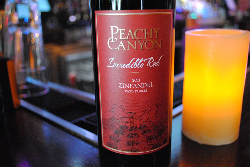 facebook.com Left, The Peachy Canyon 'Incredible Red' Zinfandel offers drinkers a fruity and smooth taste. Right, Napa Valley produces some of the best wines in the world, especially the light Sauvignon Blanc style wine.