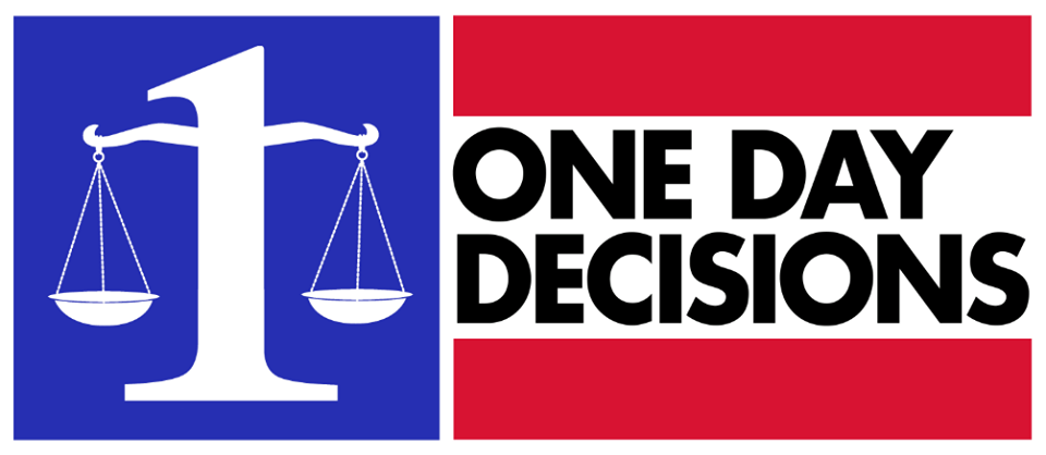 facebook.com One Day Decisions is a website that helps settle disputes online.