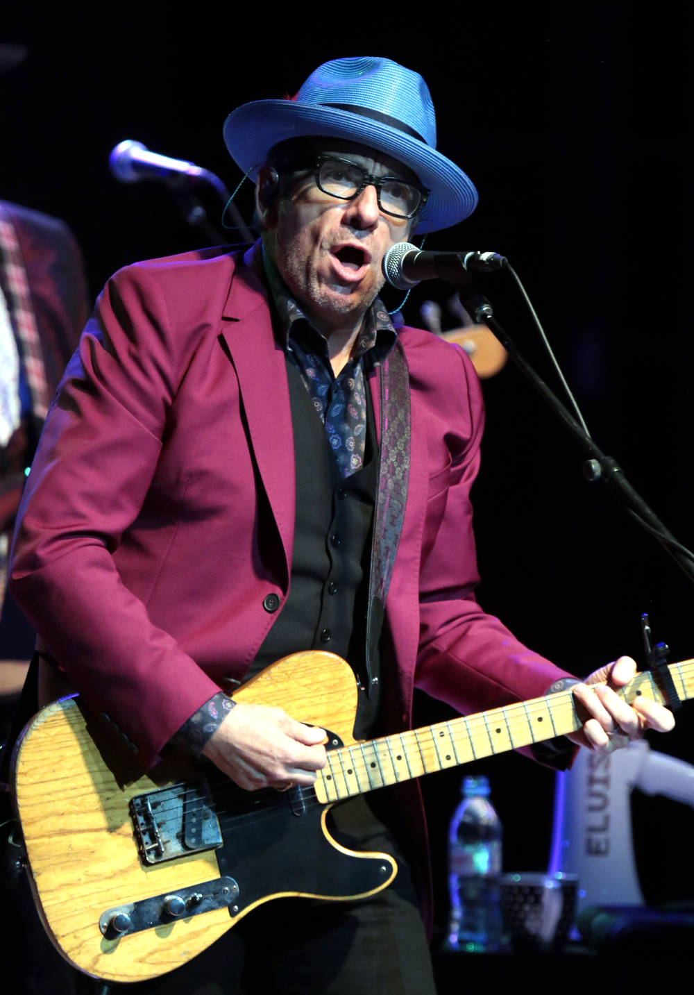 COURTESY // Will Bucquoy   Elvis Costello and the Imposters played a two and a half hour show at Weill Hall on Wednesday.