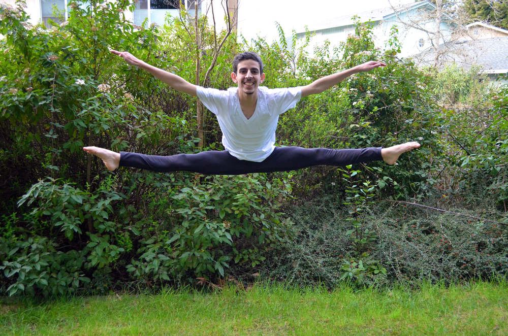 STAR // Cara  Fuqua   Eduardo Sanabria is the only male dancer on the Sonoma State Sapphires.