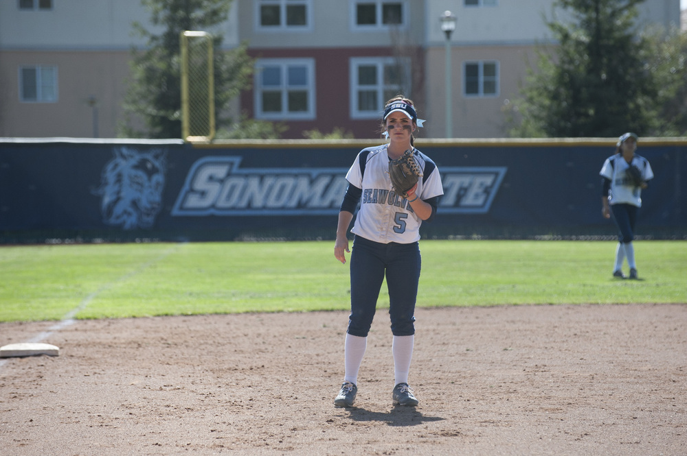 STAR // Connor Gibson The Lady Seawolves fought hard against the UC San Diego Tritons but ended up splitting the two-day series. The Seawolves lost their first and last games but dominated their second and third games with scores of 6-1 and 7-4, respectively.