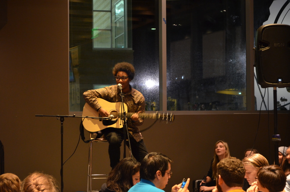 STAR // Cara Fuqua   Music filled Lobo's last Wednesday as amateur guitarists, rappers and ukulele players alike gathered to play their hearts out for the capacity crowd. Attendees where surprised to witness so much talent in the new venue.