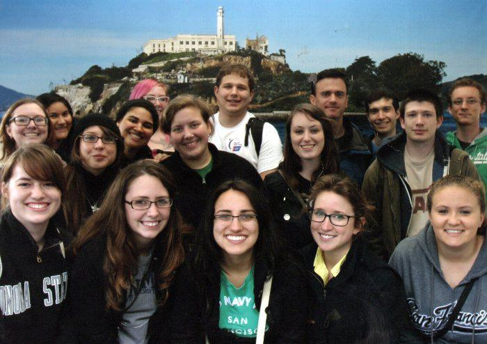 facebook.com The History Club took a field trip to Alcatraz and took a chilling night tour of the famous prison.