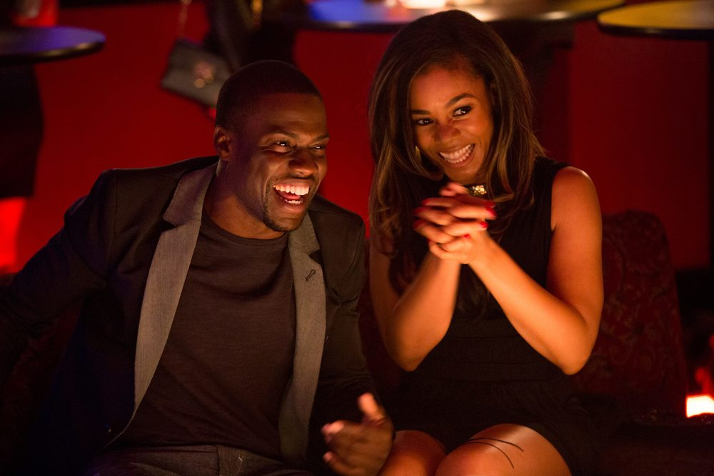 facebook.com   Kevin Hart and Regina Hall star in the romantic comedy 'About Last Night.'