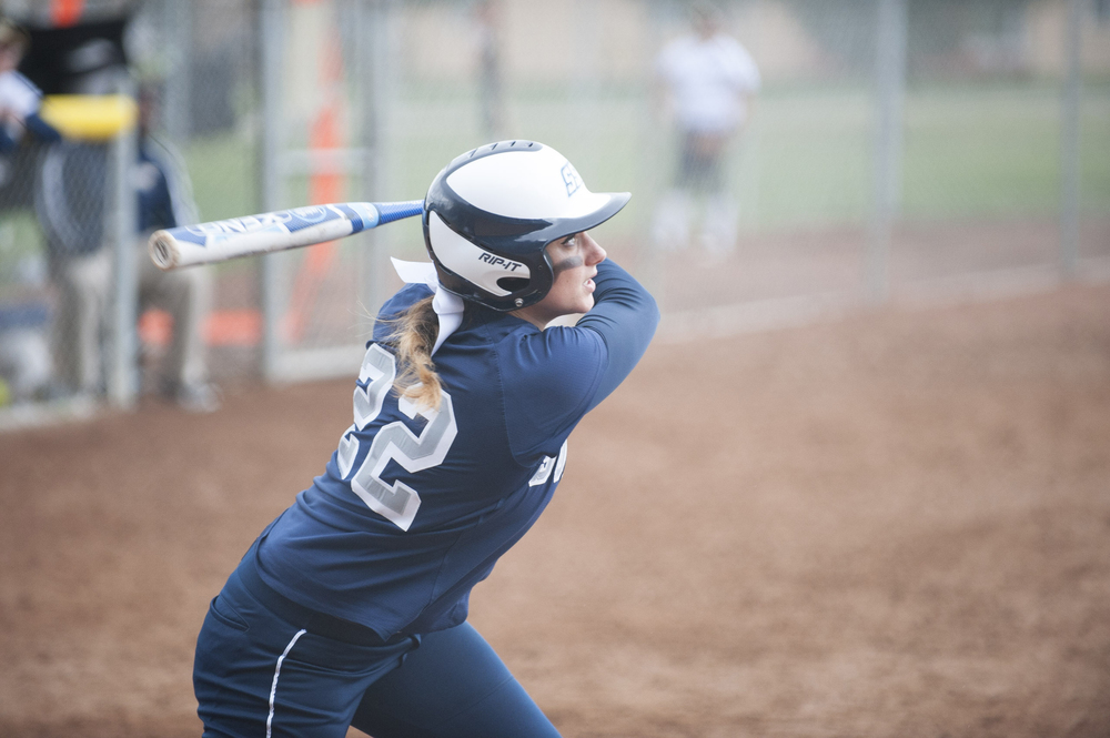 STAR // Connor Gibson Softball came out of this weekend 1-3 against Cal State Monterey Bay.