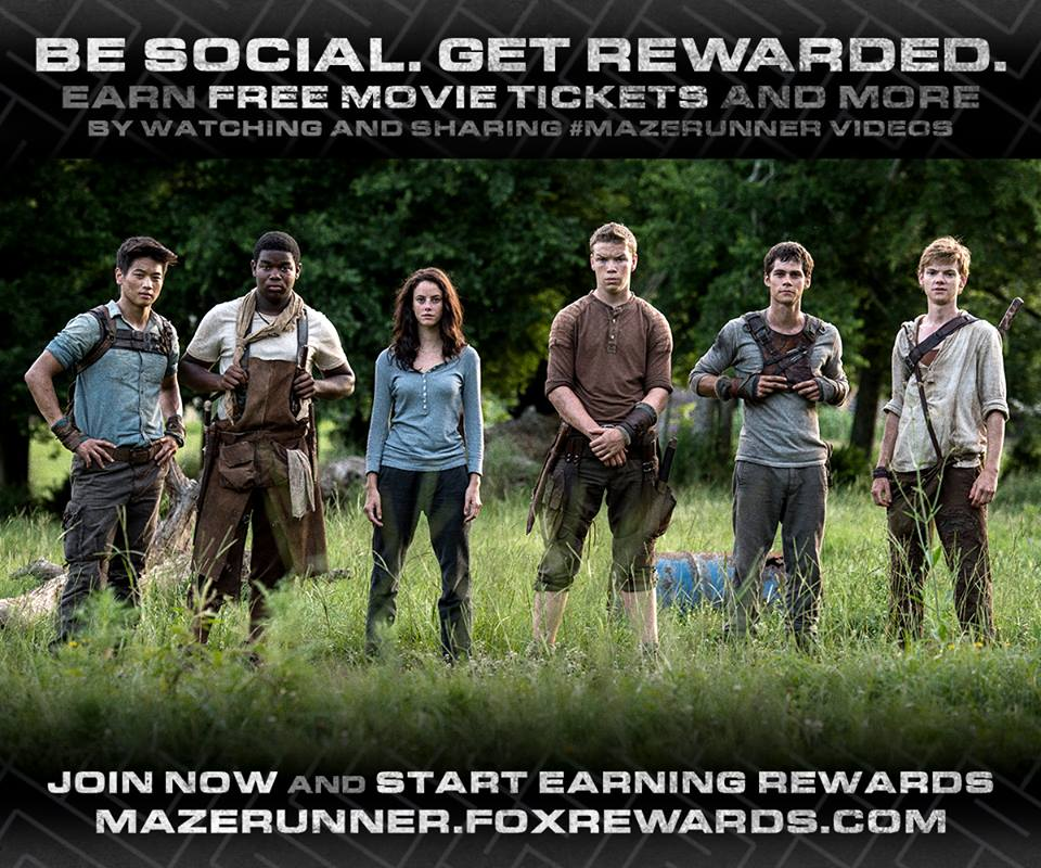 "facebook.com ""The Maze Runner,"" directed by Wes Ball, was released on Friday."