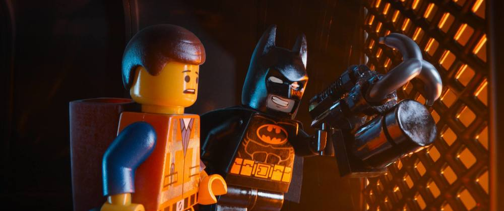 "facebook.com   Emmet (Chris Pratt) and Batman (Will Arnett) try to save the world as they know it in ""The Lego Movie."""