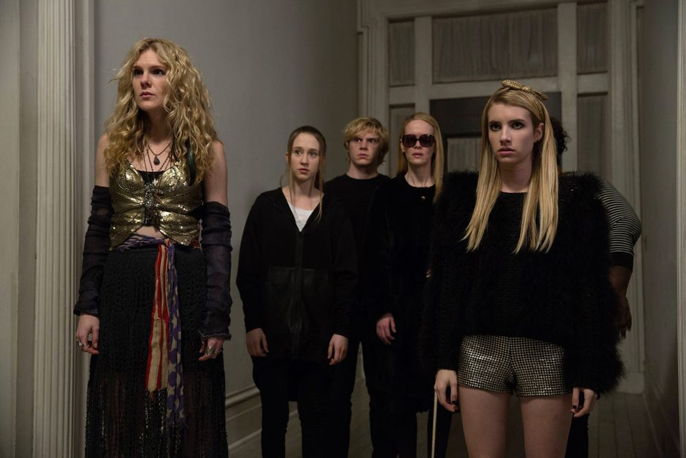 "facebook.com   The witches of Miss Robichaux's Academy face the Seven Wonders in ""American Horror Story: Coven."""