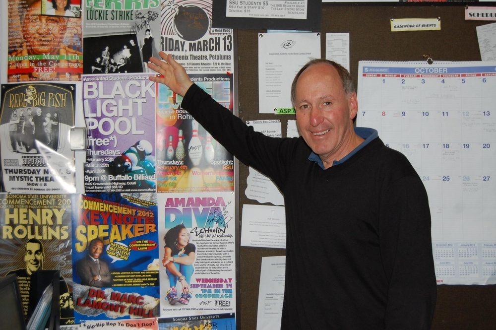 STAR // Taylor Wright Associated Student Productions' Program Coordinator Bruce Berkowitz says goodbye to SSU after more than 30 years of being on campus.