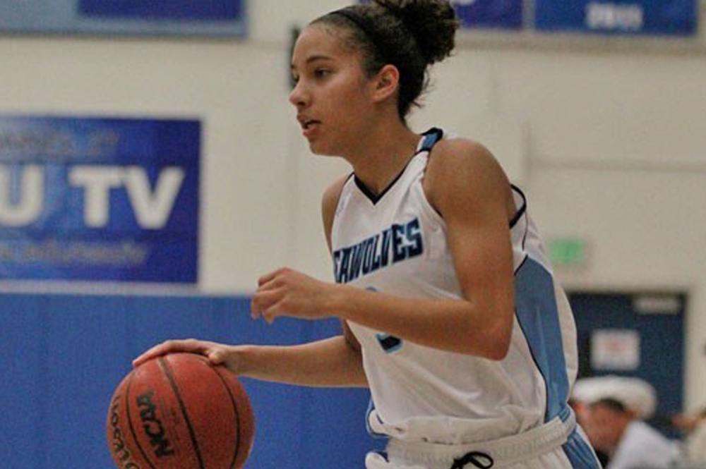 COURTESY // SSU Athletics Taylor Acosta scored 17 points in the game against Stanislaus.