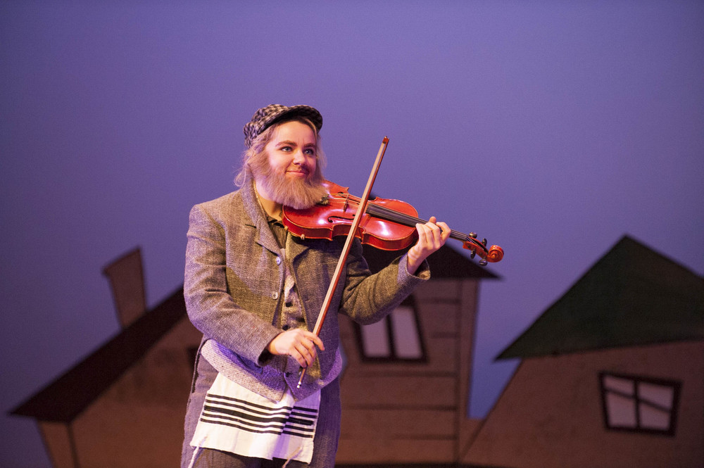 STAR // Connor Gibson Fiddler on the Roof premieres this week at Sonoma State, celebrating the Broadway production's 50th anniversary.