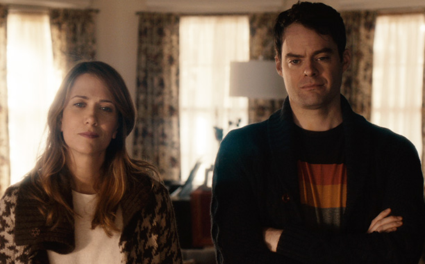 "facebook.com   Comedians Kristen Wiig and Bill Hader star in ""The Skeleton Twins."""