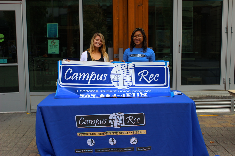 The Archery Club, Equestrian team and many more came out to table in hopes of attracting new members to their clubs. Along with newer clubs, older and more established teams like the Sonoma State Sapphires came out to table and entertain.