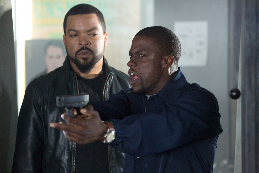 facebook.com   Ice Cube and Kevin Hart star in the new comedy 'Ride Along.' The movie opened at number one at the box office.
