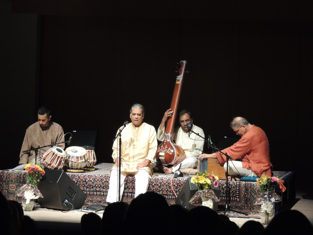 STAR // Alyssa James Professor of ethnomusicology, Laxmi G. Tewari, performed traditional Indian folk music at the Green Music Center on Saturday.