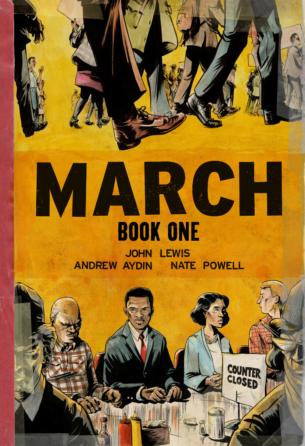 "topshelfcomix.com The graphic novel ""March: Book One"" was written by Congressman John Lewis and details the March on Washington 50 years ago."