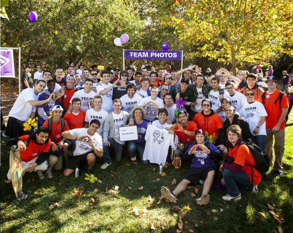 COURTESY // Ricky Solomon    Tau Kappa Epsilon takes a group photo in celebration of their recent achievements.