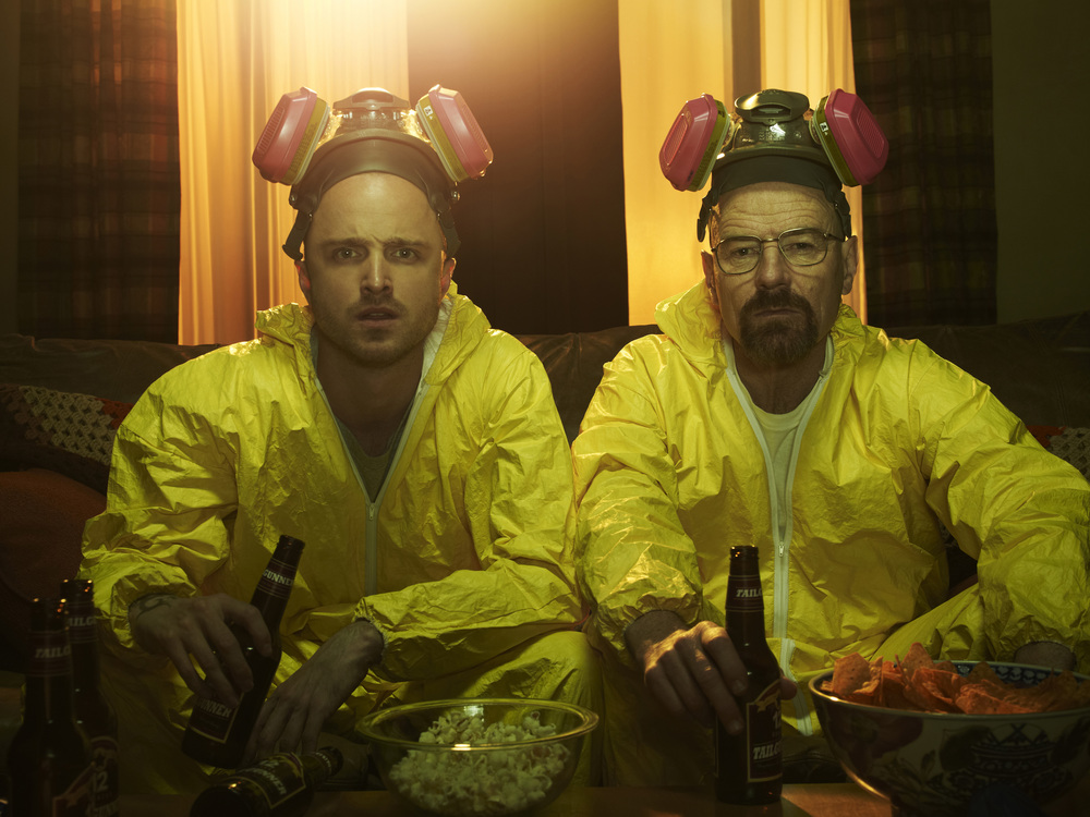 "slate.com The final seasons of both ""Breaking Bad"" (AMC) and ""Dexter"" (Showtime) have television audiences on the edge of their seats. Both shows have enjoyed multiple seasons and millions of viewers this past summer."
