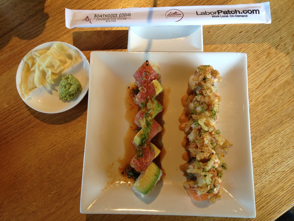 STAR // Dana Stenmark Delicious sushi awaits at seafood joint, Boathouse Sushi.