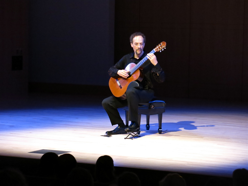 STAR // Maud  Busson   Classical guitarist William Kanengiser performed two acts in Schroeder Hall on Friday.