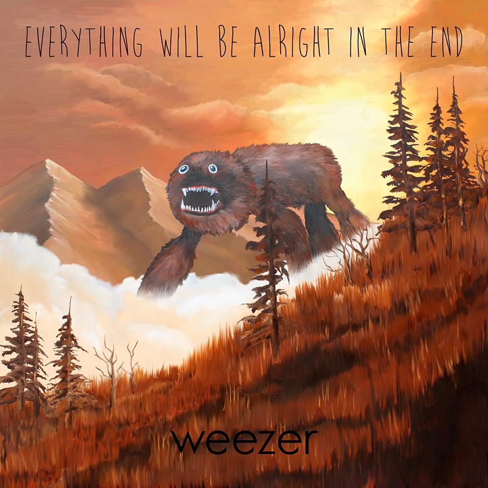 "facebook.com Weezer released their latest album ""Everything Will Be Alright in the End"" on Tuesday."