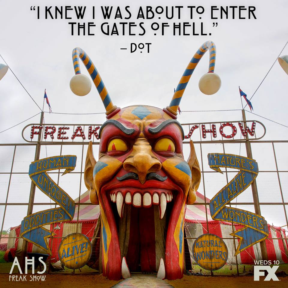 "facebook.com American Horror Story returned to FX for its fourth season, entitled ""Freak Show."""