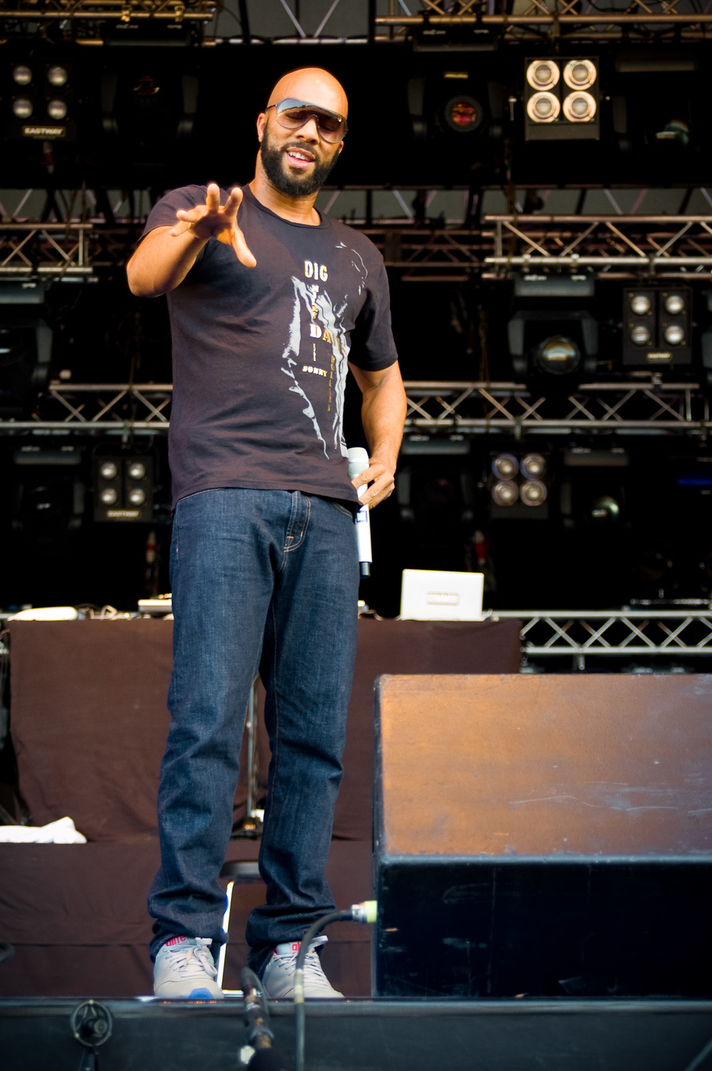 wikimedia.org    Rapper Common is one of the many hip hop artists who will be in attendance at Rock the Bells 2013 this weekend in Mountain View. Other acts include the Wu-Tang Clan, Bone Thugs-N-Harmony,  and Deltron 3030.