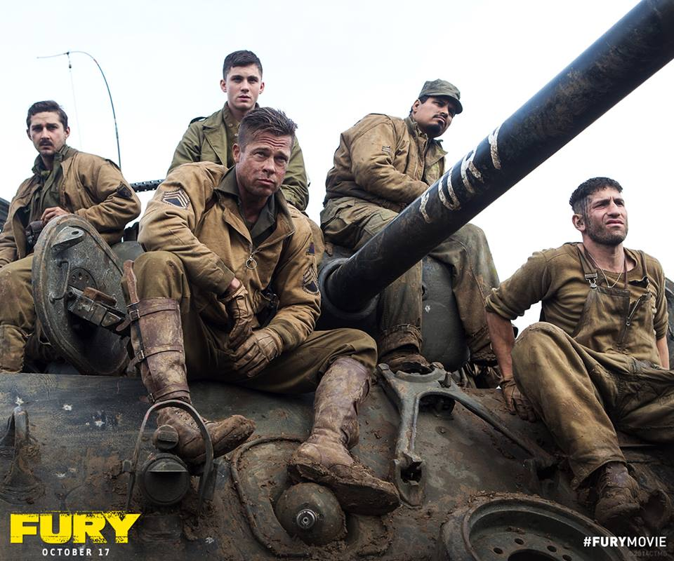 "facebook.com   ""Fury,"" starring Brad Pitt, released Friday."