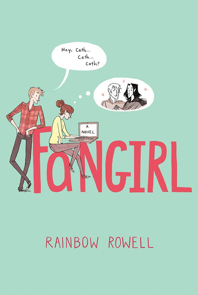 facebook.com Rainbow Rowell's latest book 'Fangirl' is a delight for young adult audiences.