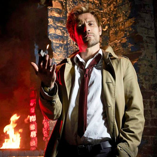 facebook.com   David Giuntoli stars as John Constantine in the first season.