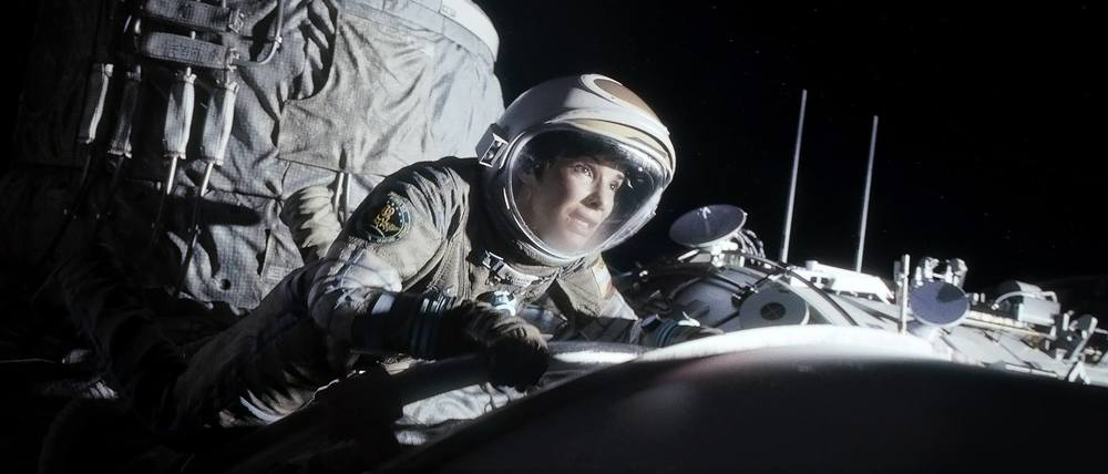 "facebook.com    Sandra Bullock stars as astronaut Dr. Ryan Stone in the science-fiction thriller ""Gravity."""