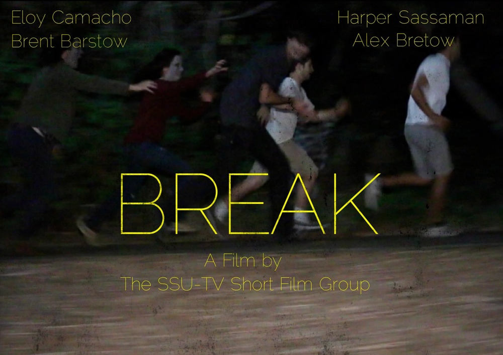 "COURTESY // Eloy Camacho ""Break"" is a zombie horror film about David and his friends having to overcome a deadly virus."