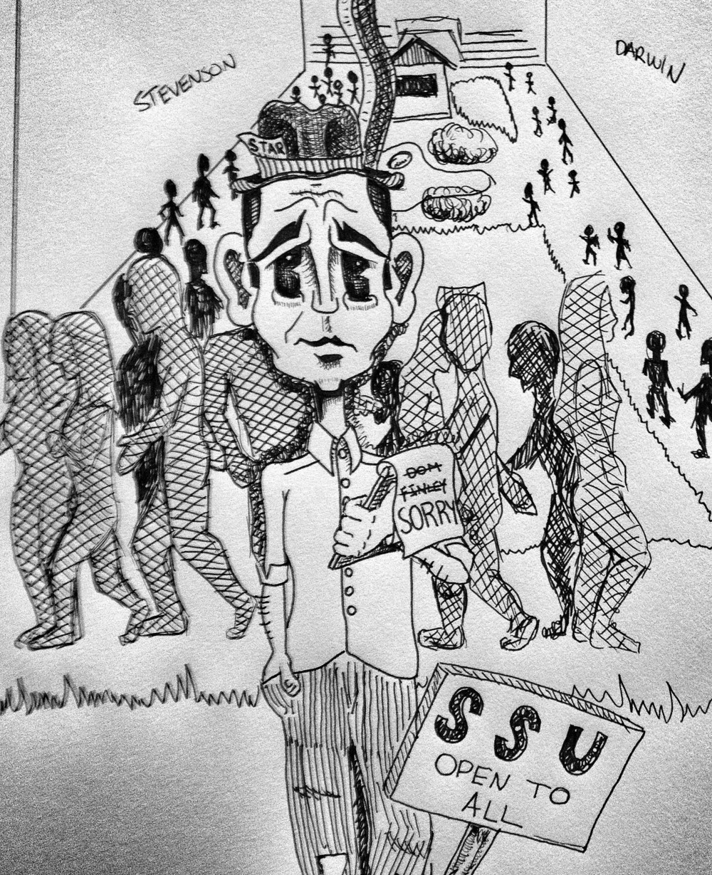 STAR // Garett Knight    The editorial board at the Sonoma State STAR apologizes for the false claims made in a recent student spotlight article, but we take this incident as an important lesson for us to be aware of who we think we surround ourselves with.