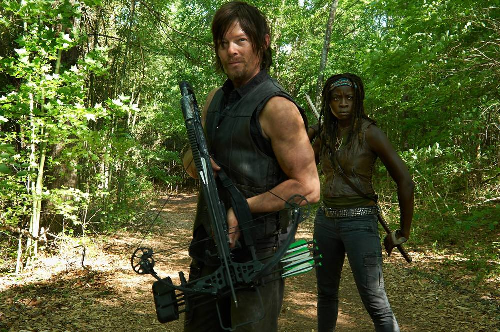 facebook.com Daryl Dixon (Norman Reedus) and Michonne (Danai Gurira) return to slay even more zombies this season.