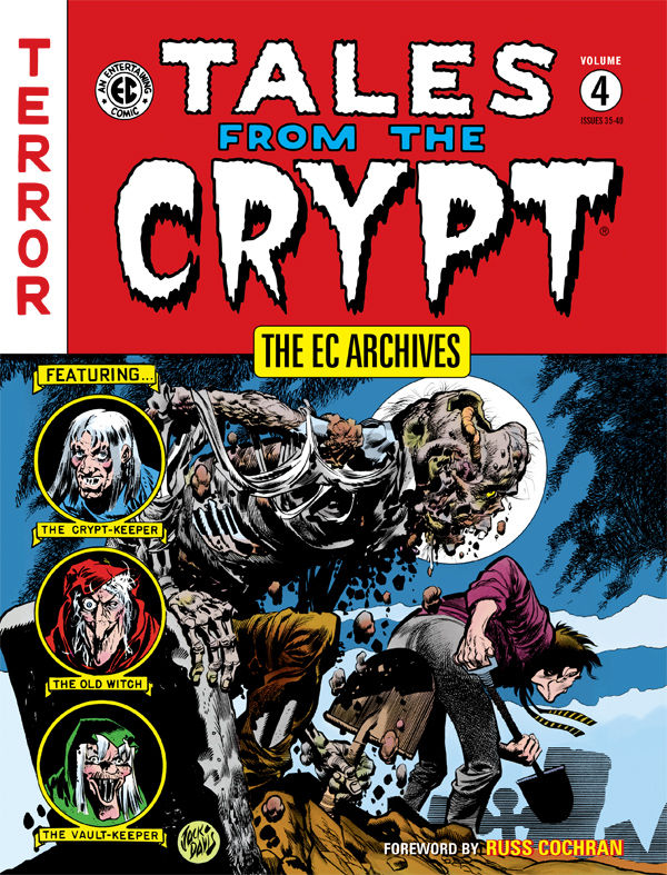 darkhorse.com 'Tales from the Crypt' is the recommended collection of horror comics to read around the graveyard this Halloween.