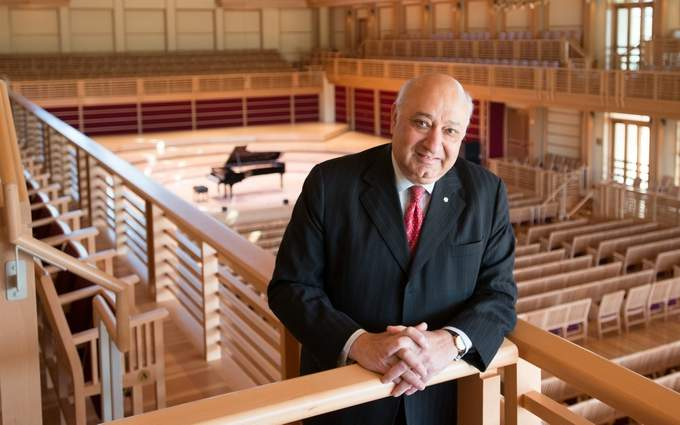 COURTESY // Green Music Center Former President of the New York Philharmonic Zarin Mehta officially took his place as new co-executive director of the GMC on Nov. 1.