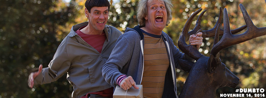 "facebook.com Jim Carrey and Jeff Daniels star in ""Dumb and Dumber To,"" released on Friday."