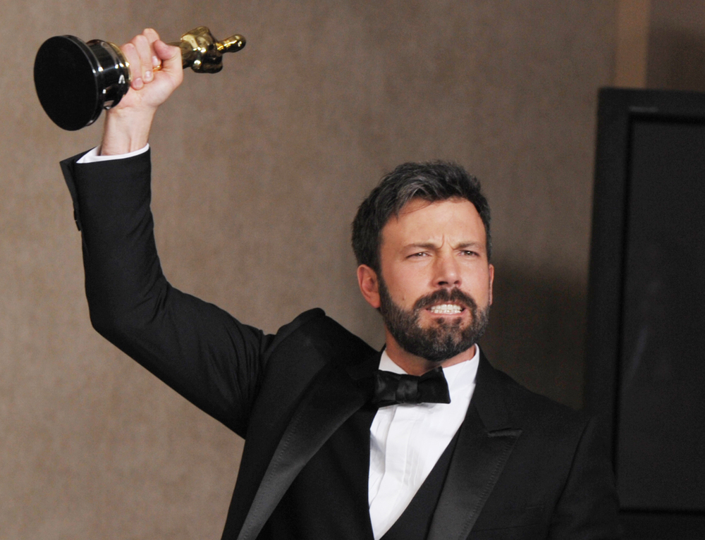 "silverscreeningreviews.com ""Argo,"" written, directed and staring Ben Affleck, took home Best Picture award."