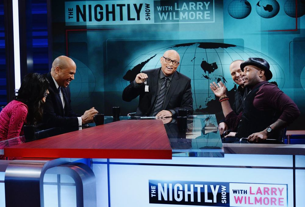 facebook.com Larry Wilmore discusses many topics in politics with emphasis in race issues in his program featuring a panel of guests he consults with.