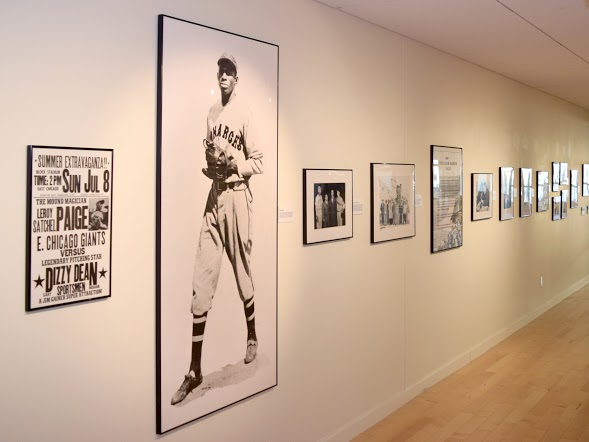 "STAR // Kayla E. Galloway   ""Discover Greatness: An Illustrated History of the Negro Baseball Leagues"" holds historical photos and gives gallery viewers the opportunity to learn about African-American baseball history."