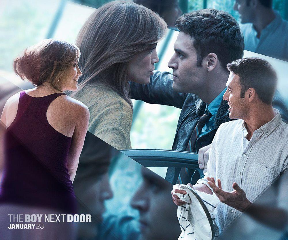 """facebook.com   Jennifer Lopez and Ryan Guzman star in the new thriller """"The Boy Next Door."""""""