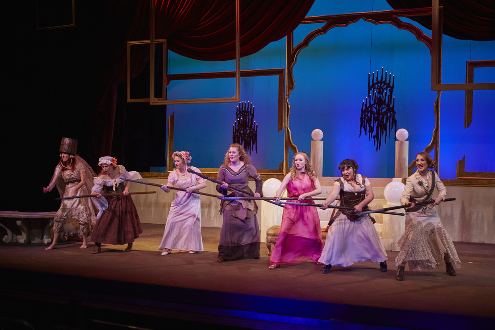 "COURTESY // David Papas Sonoma State University's theatre arts and dance department's production of ""Heroines"" features seven female heros who are determined to prove their worth and obtain equality."