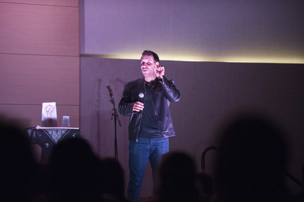 STAR // Connor Gibson Comedy magician Daniel Martin combined simple magic tricks and a stand-up comedy act to show Sonoma State University students a good time in the Student Center.
