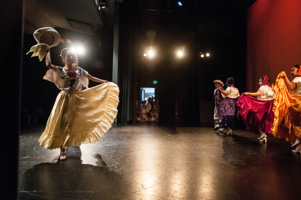 STAR // Gustavo Vasquez  Sonoma State club, Ballet Folklorico de Sonoma at the 26th Annual Fuentes Academic Workshop at Sonoma State, on Saturday, March. 7, 2015.