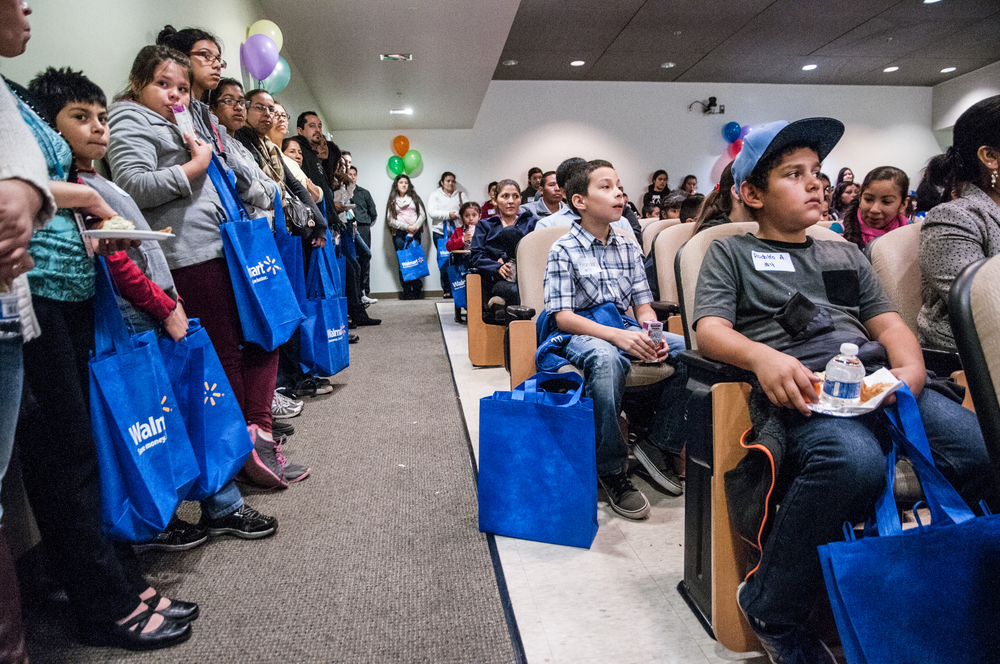 STAR // Gustavo Vasquez Students waiting for keynote speaker at start of the 26th Annual Fuentes Academic Workshop at Sonoma State, on Saturday, March. 7, 2015.