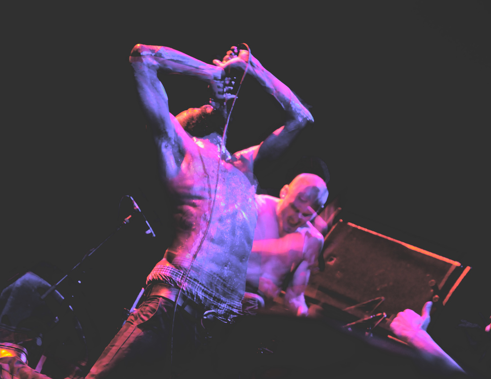 facebook.com   MC Ride performs with much intensity during each of their shows.
